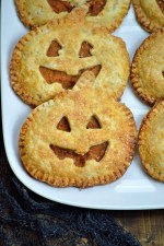 Haunted Pumpkin Handpies