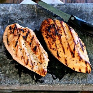 Perfect Skinless Boneless Grilled Chicken